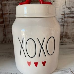 Rae Dunn XOXO Valentine's Day small canister